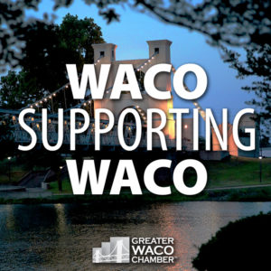 image of Reopen Waco Text Logo